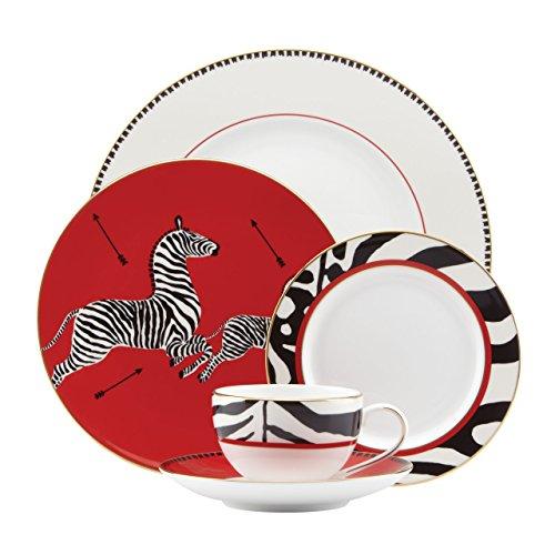 Lenox Scalamandre Zebras 5 Piece Place Setting, White