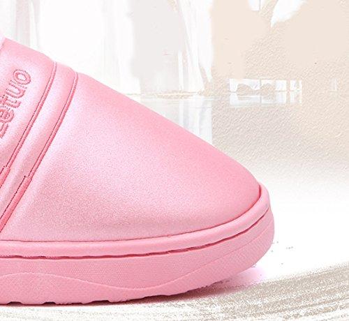 Homme Chaussures et Chaussons Slippers 1 Femme Maison Rose Insun Pantoufles Plat xRqX1E6wwP