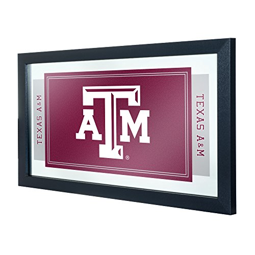 (NCAA Texas A&M University Framed Logo Mirror)