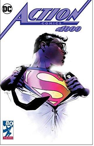 ACTION COMICS #1000 JETPACK COMICS/FORBIDDEN PLANET EXCLUSIVE JOCK VARIANT DC COMICS - Exclusive Variant Cover