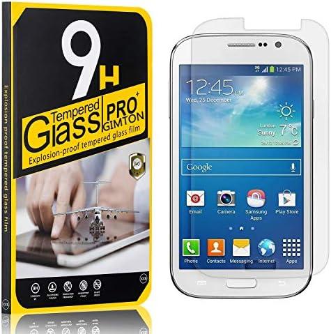 GIMTON Displayschutzfolie für Galaxy Grand Neo I9060, Ultra klar Schutzfilm aus Gehärtetem Glas, Anti Kratzen Displayschutz Schutzfolie für Samsung Galaxy Grand Neo I9060, 3 Stück