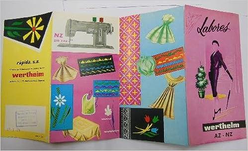 Antiguo folleto publicidad - Old advertising brochure : MÁQUINAS ...