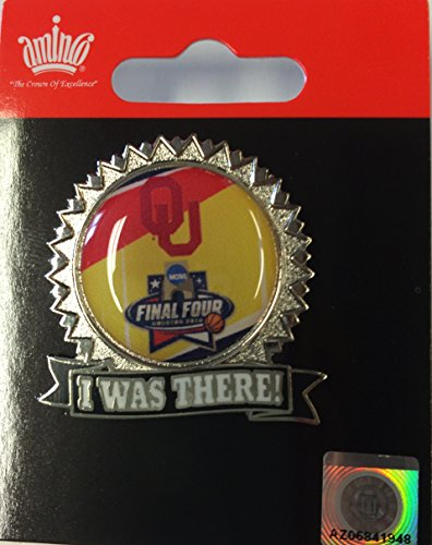 Oklahoma Sooners Aminco 2016 NCAA Final Four I was There Collectible Lapel Pin - Oklahoma Sooners Lapel Pins