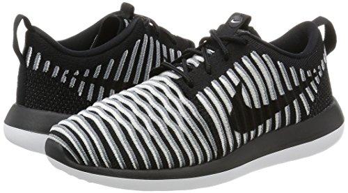 Corsa Roshe Nero Donna Scarpe Flyknit Nike Da cool bianco nero Nero Two black Grey W 58w4SY