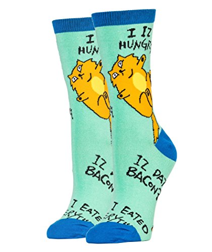 Oooh Yeah Socks ! - Womens Crew - Phat Cat