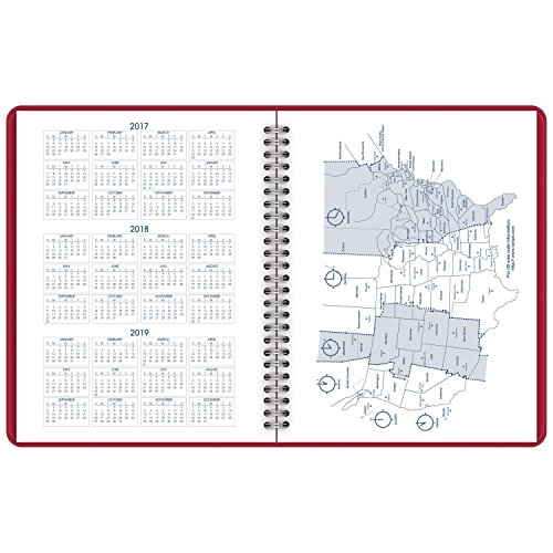 AT-A-GLANCE Monthly Planner, January 2018 - December 2018, 6-7/8