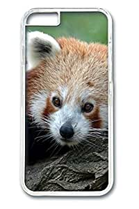 iphone 6 4.7inch Case iphone 6 4.7inch Cases Red Panda Animal Polycarbonate Hard Case Back Cover for iPhone 6 transparent
