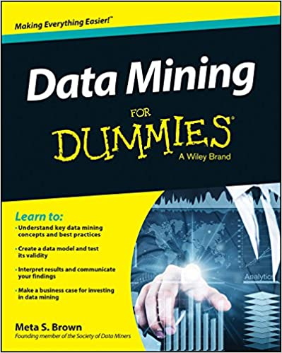 Data mining for dummies 1 meta s brown ebook amazon fandeluxe Image collections