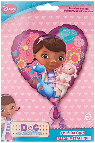 Anagram International HX Doc McStuffins Love Packaged Party Balloons, Multicolor -