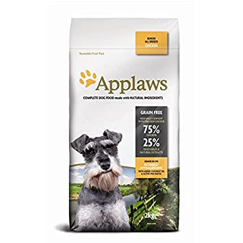 Applaws Natural Complete Dry Dog Food Senior All Breed Adult