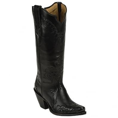 Amazon.com: Tony Lama Boots Women's Saigets Worn Goat 6071L ...