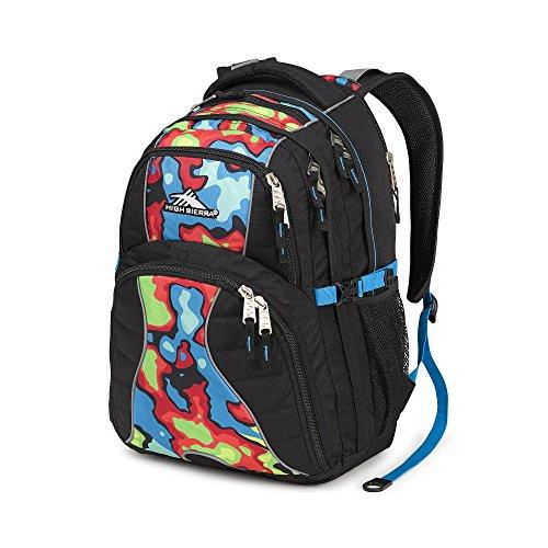 High Sierra Swerve Heat Map Backpack