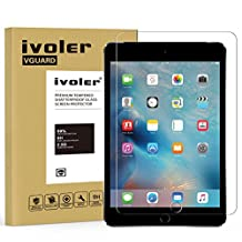 iVoler Apple iPad Mini 4 7.9'' inch Screen Protector with Ultra Clear 9H Hardness Tempered Glass for Apple iPad Mini 4 7.9''- Lifetime Replacement Warranty