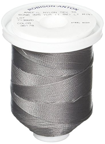 - American & Efird STF225692.6020 Grey Tex70 Super Tuff Upholstery Third Nylon