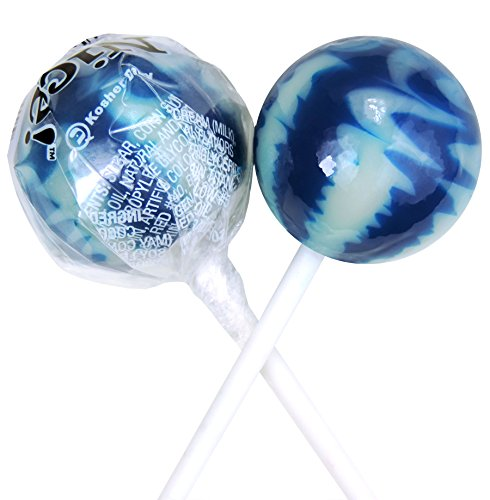 Original Gourmet Lollipops, Blueberries and Cream, (Pack of -