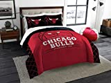 Chicago Bulls - 3 Piece FULL / QUEEN SIZE Printed