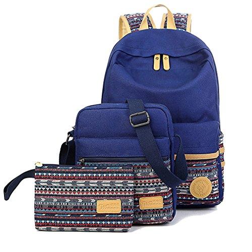 Artone Stripes Daypack Backpack Interior