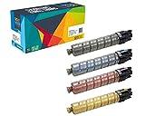 Do it Wiser Compatible Toner for Ricoh Aficio SP C430 SP C430DN SP C431DN SP C431DN-HS SP C431DNHT SP C431DNHW SP C440DN SP C441DN - 4 Pack