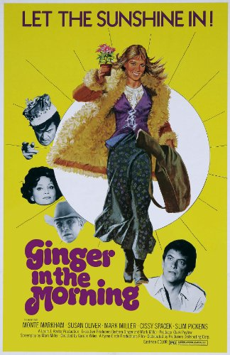 Ginger In the Morning - 1970s Button