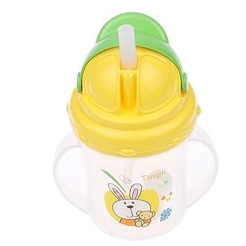 Auslaufsicher Baby Kinder Kleinkind Lernen Trinkflasche Wasser Tasse