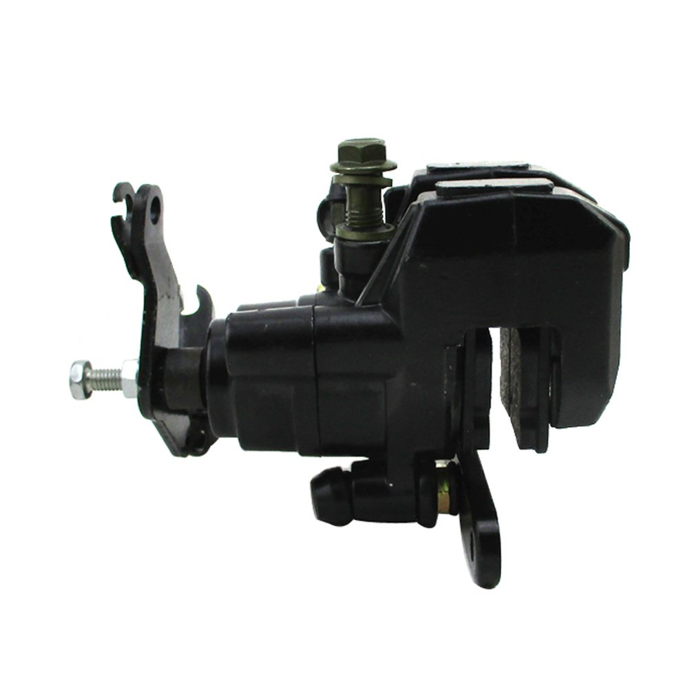 XLJOY Rear Brake Caliper Assembly For Yamaha Wolverine 350 ATV Quad 1995-2005 Banshee 350 1987-2006 Blaster 200 2003-2006 Warrior 350 1987-2004