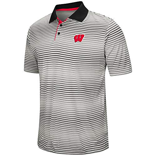Mens Wisconsin Badgers Polo Shirt - L