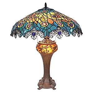 Amazon Com Design Toscano Tf10015 Art Nouveau Peacock