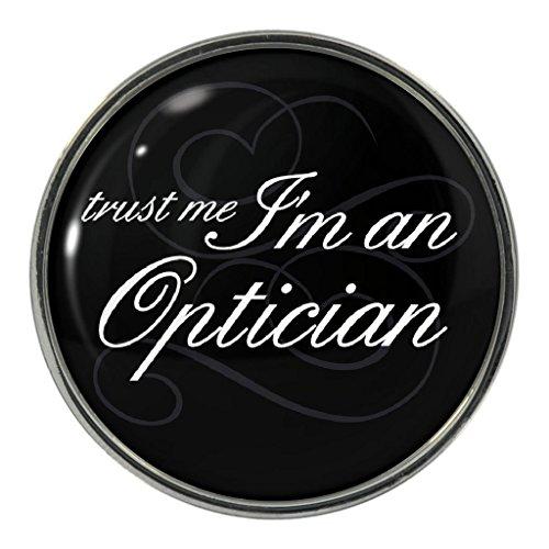 Trust Me I'm An Optician Metal Pin - Mens Specsavers