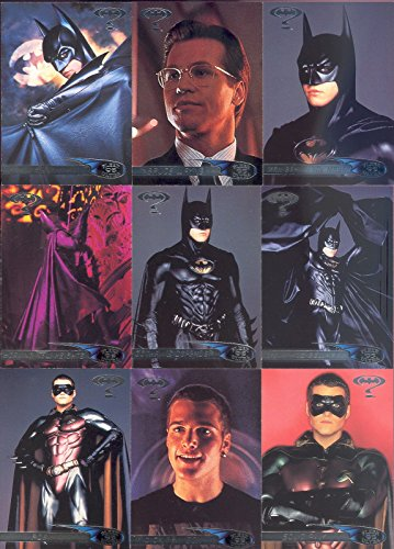 BATMAN FOREVER MOVIE 1995 FLEER ULTRA COMPLETE HOBBY BASE CARD SET OF 120 DC - Movie Trading Card Set