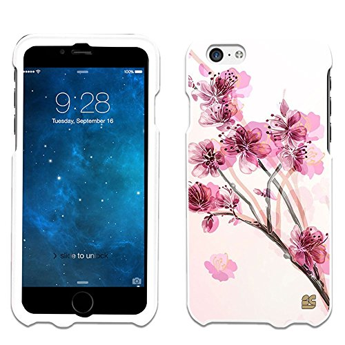 iPhone 6 Case, Spots8® Hard Plastic Slim Fit [Chinese Blossom] Case Covers Compatible with iPhone 6 (AT&T/Verizon/Sprint/T-Mobile/Boost Mobile/US Celluar)