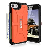 urban armor gear iphone 4 - UAG iPhone 8 / iPhone 7 / iPhone 6s [4.7-inch screen] Trooper Feather-Light Rugged Card Case [RUST] Military Drop Tested iPhone Case