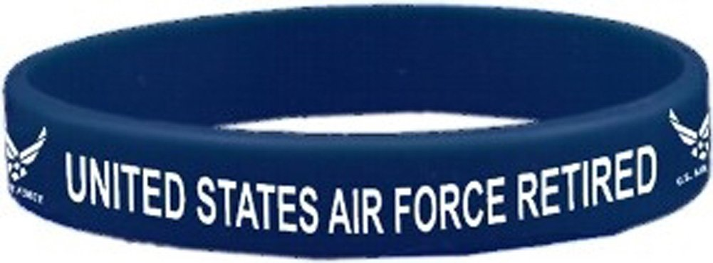 United States Air Force Retired Wristband