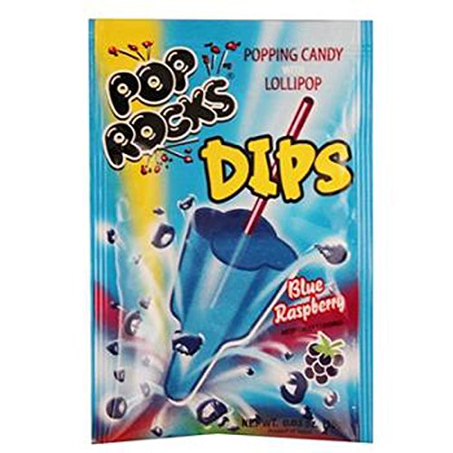 Pop Rocks Dips Sour Blue Raspberry (Raspberry Dip)
