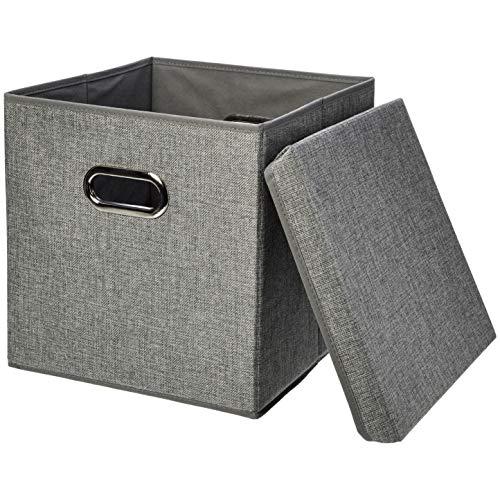 AmazonBasics Foldable Burlap Cloth
