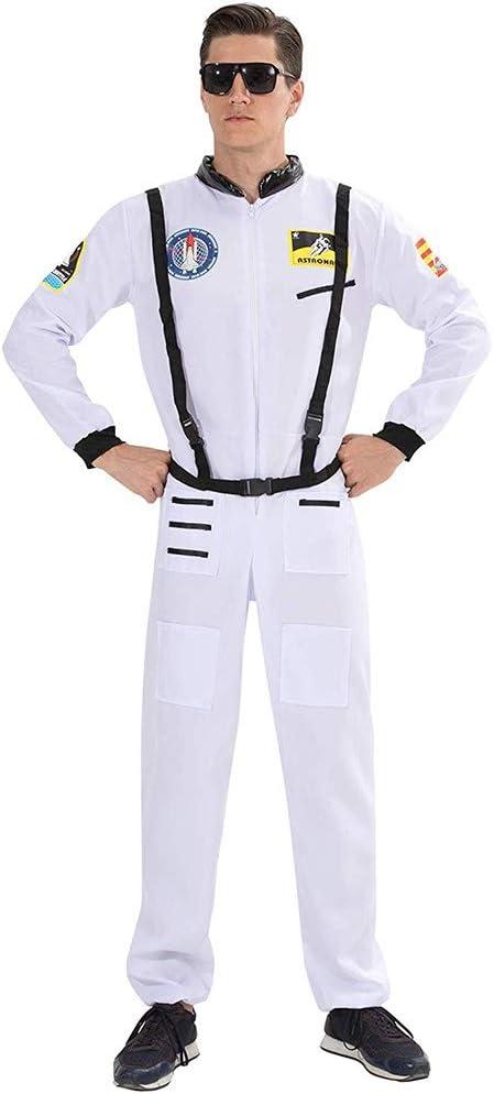 W&TT Uniforme de Traje de Astronauta para Hombres y Mujeres Mono ...