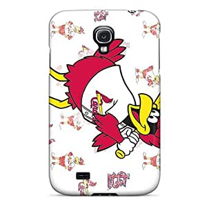 Fashion Tpu Case For Galaxy S4- St. Louis Cardinals Defender Case Cover by supermalls