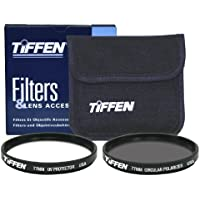 Tiffen 77mm Photo Twin Pack Polarizer And UV Protective Filter