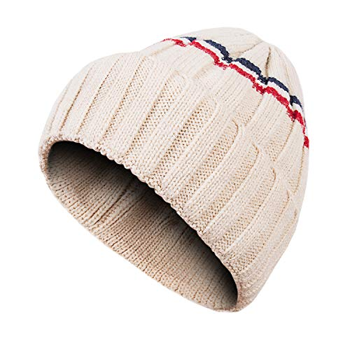 Dsane Kids Baby Winter Toddler Ribbed Knit Childrens Hat Boys Girls Beanie Cap
