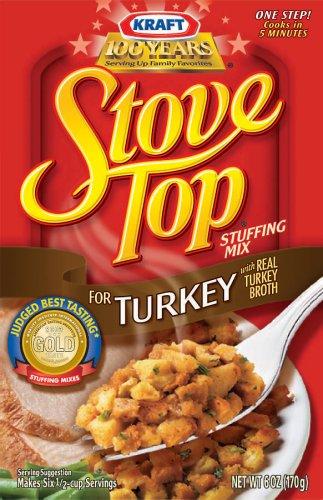 kraft stove top stuffing mix turkey 6 oz amazon com grocery