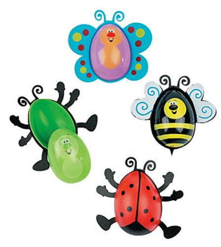 Bug Shaped Plastic Easter Eggs product image