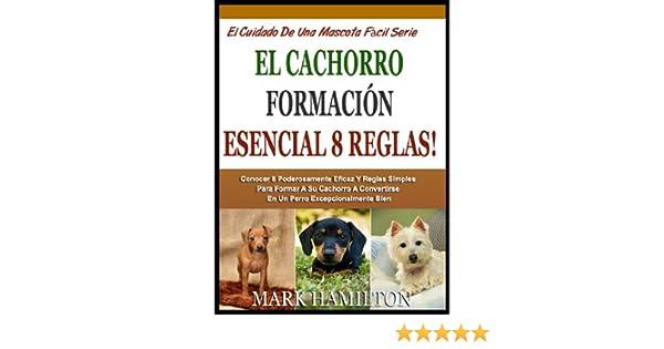 EL CACHORRO 8 ESENCIALES NORMAS DE CAPACITACIÓN: Aprender 8 Poderosamente Eficaz Y Reglas Simples Para Entrenar A Tu Cachorro Para Convertirse En Un Perro .