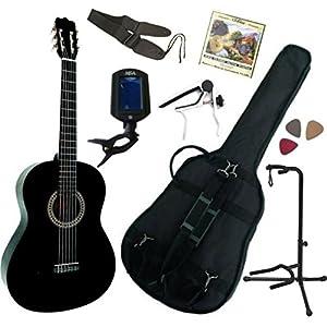 barcelona cg10k-bks 3-4 kit guitare classique d etude 3-4 ns