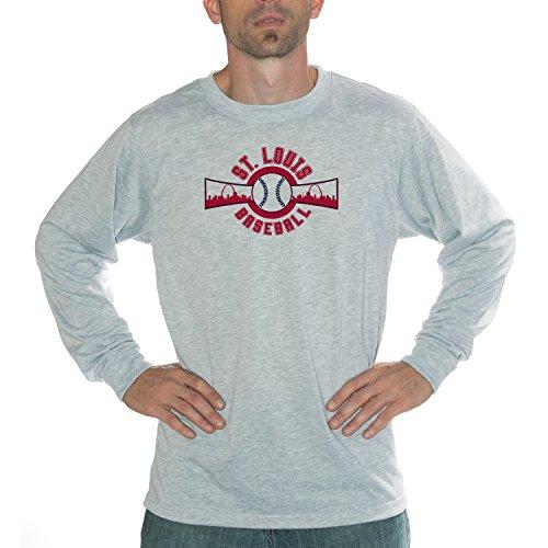 My City - St. Louis Baseball Performance Long Sleeve Shirt (Mlb Ballpark Long Sleeve)