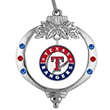 Final Touch Gifts Texas Rangers Christmas Ornament