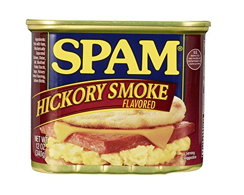 SPAM Smoked - Ham - Canned - Shelf Stable Protein - 12 Ounce
