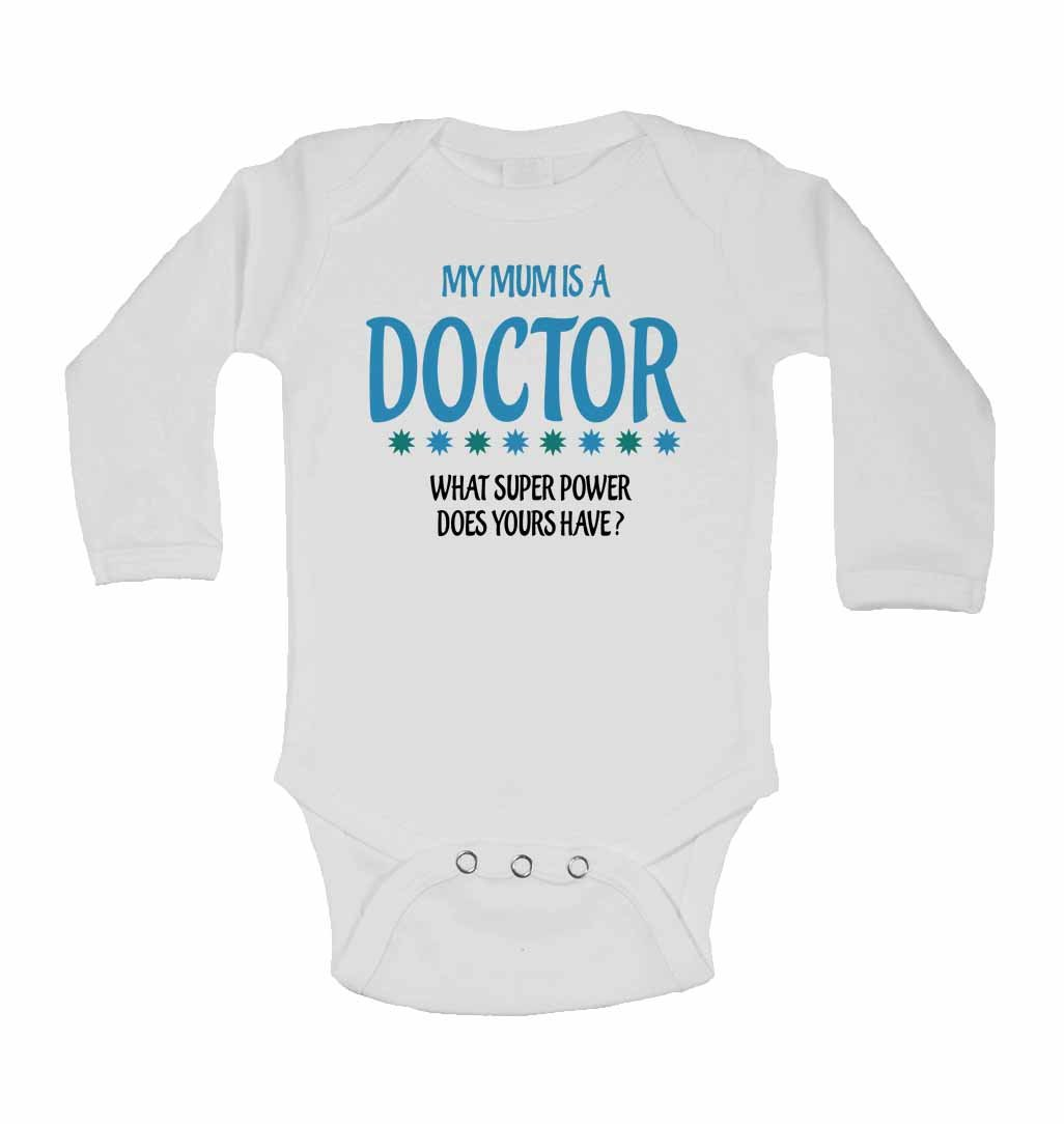 New Baby Vests My Mum is A Doctor What Super Power Does Yours Have?