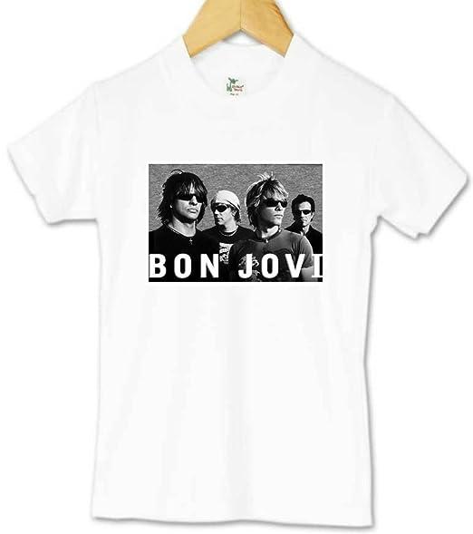 811c183ed Amazon.com: Bon Jovi Toddler Tee: Clothing