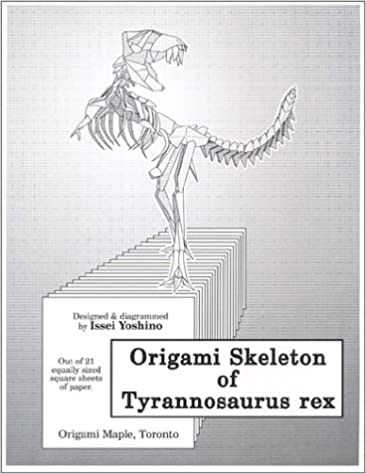 Origami Tyrannosaurus Rex | Design by Fumiaki Kawahata Fold … | Flickr | 474x366