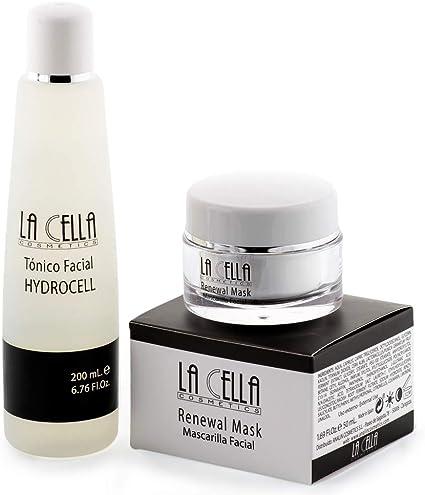 Mascarilla Facial hidratante para puntos negros + Tónico facial para todo tipo de pieles. Antiedad Antiarrugas/Pack completo limpieza facial: Amazon.es: Belleza