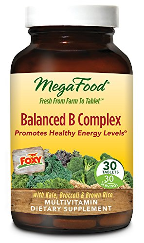 MegaFood Balanced B Complex Tablets